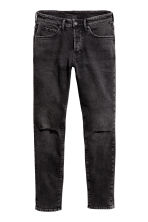 Skinny Low Jeans - Black washed out - Men | H&M CA 2